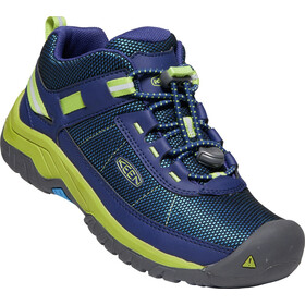 Keen Targhee Sport Chaussures Adolescents, blue depths/chartreuse